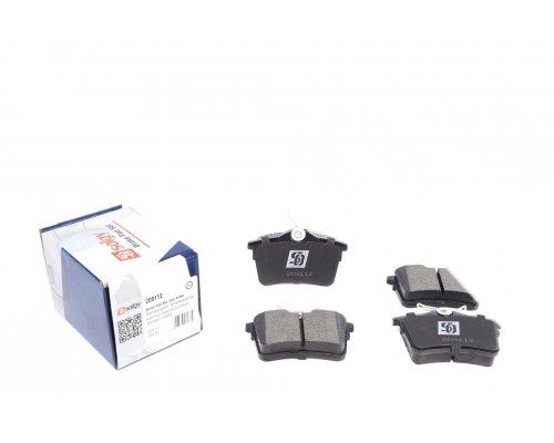Тормозные колодки задние Peugeot Partner II / Citroen Berlingo II 2008- 209112 SOLGY (Испания)