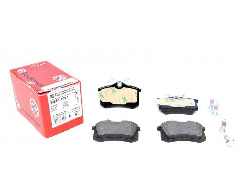 Тормозные колодки задние (LUCAS) Fiat Scudo / Citroen Jumpy / Peugeot Expert 1995-2006 20961.152.1 ZIMMERMANN (Германия)