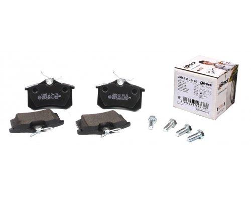 Тормозные колодки задние (LUCAS) Fiat Scudo / Citroen Jumpy / Peugeot Expert 1995-2006 209610070400 BRECK (Польша)