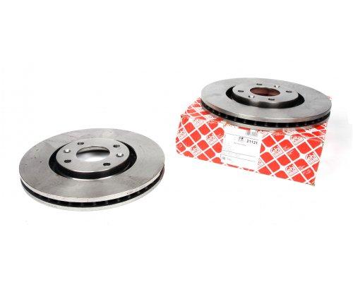 Тормозной диск передний (283x26мм) Peugeot Partner II / Citroen Berlingo II 2008- 21121 FEBI (Германия)