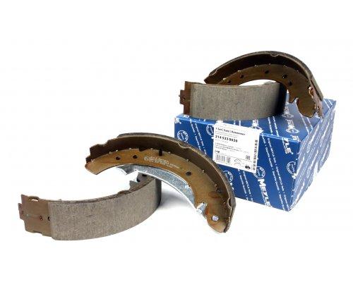 Задние барабанные тормозные колодки Fiat Scudo II / Citroen Jumpy II / Peugeot Expert II 2007- 2145330020 MEYLE (Германия)
