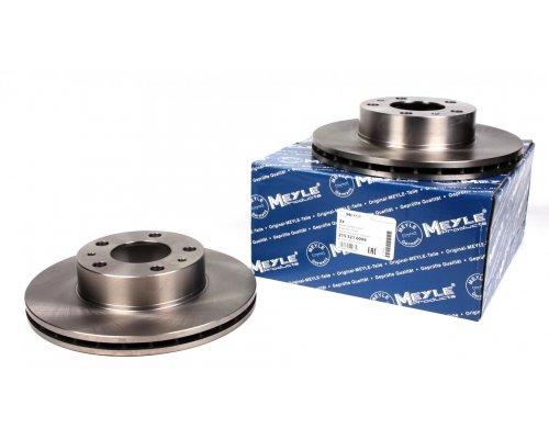Тормозной диск передний (280x24мм) Fiat Ducato / Citroen Jumper / Peugeot Boxer 1994-2006 2155210004 MEYLE (Германия)