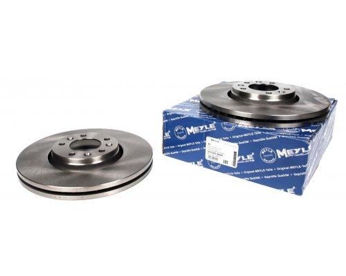 Тормозной диск передний (диаметр 304мм) Fiat Scudo II / Citroen Jumpy II / Peugeot Expert II 2007- 2155210024 MEYLE (Германия)
