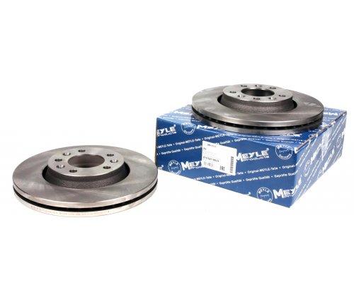 Тормозной диск передний (диаметр 280мм) Fiat Scudo II / Citroen Jumpy II / Peugeot Expert II 2007- 2155210033 MEYLE (Германия)