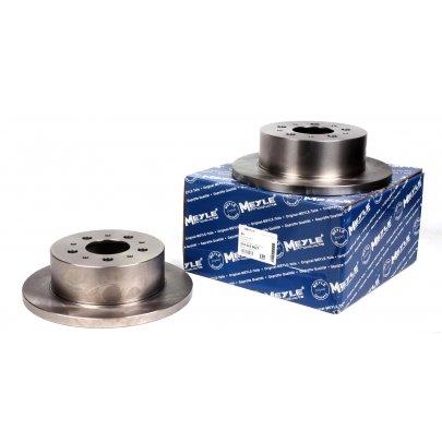 Тормозной диск задний (280x16мм, R15) Fiat Ducato / Citroen Jumper / Peugeot Boxer 2002-2006 2155230027 MEYLE (Германия)