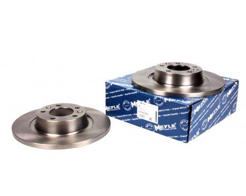 Тормозной диск задний Fiat Scudo II / Citroen Jumpy II / Peugeot Expert II 2007- 2155230029 MEYLE (Германия)