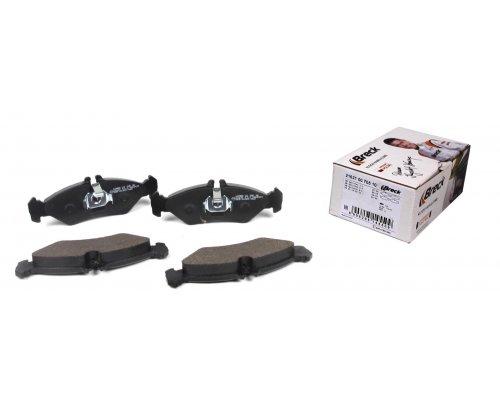 Тормозные колодки задние (141x50x17мм) MB Sprinter 208-316 1995-2006 216210070510 BRECK (Польша)