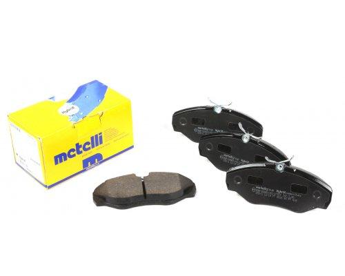 Тормозные колодки передние Renault Trafic II / Opel Vivaro A 2001-2014 22-0338-2 METELLI (Италия)