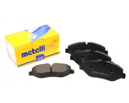 Тормозные колодки передние без датчика VW Crafter 2006- 22-0671-0 METELLI (Италия)