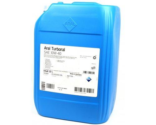 Полусинтетическое моторное масло Turboral SAE 10w40 (20L) 22003 ARAL (Германия)
