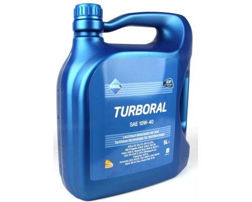 Полусинтетическое моторное масло Turboral SAE 10w40 (5L) 22105 ARAL (Германия)