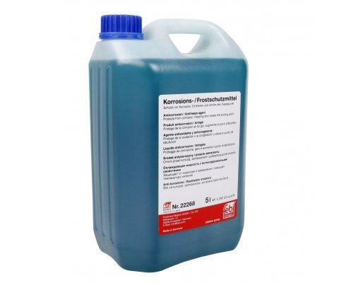 Антифриз концентрат G11 (синий, 5л) MB Vito 639 2003- 22268 FEBI (Германия)