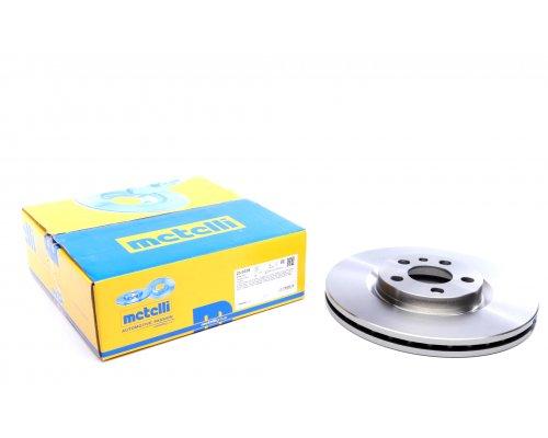 Тормозной диск передний (281x26мм) Fiat Scudo / Citroen Jumpy / Peugeot Expert 1995-2006 23-0338 METELLI (Италия)