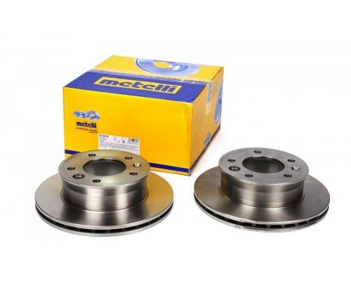 Тормозной диск передний (276х22мм) MB Sprinter 208-416 1995-2006 23-0418 METELLI (Италия)