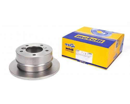 Тормозной диск задний (258х12мм) MB Sprinter 208-216 1995-2006 23-0491 METELLI (Италия)