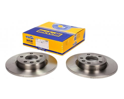 Тормозной диск задний сплошной (280x12mm) VW Transporter T4 90-03 23-0657 METELLI (Италия)