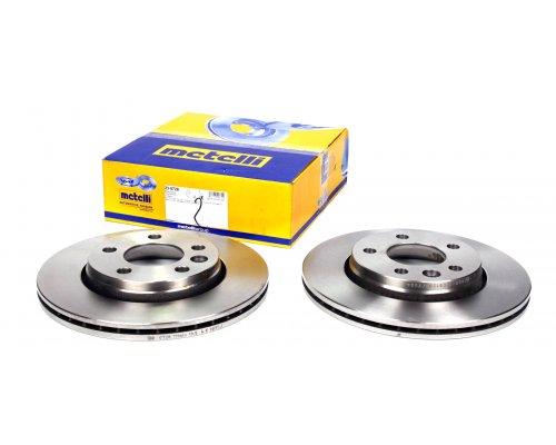 Тормозной диск задний (LUCAS, 294x22mm) VW Transporter T5 03- 23-0728 METELLI (Италия)