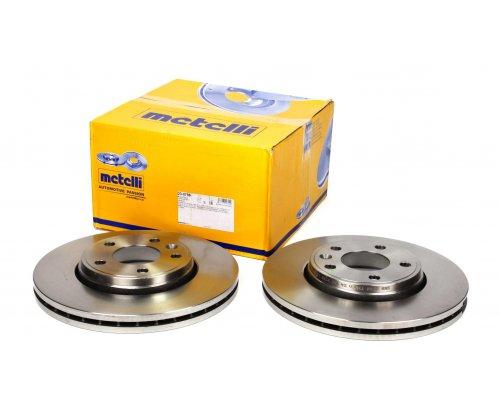 Тормозной диск передний Renault Trafic II / Opel Vivaro A 2001-2014 23-0798 METELLI (Италия)