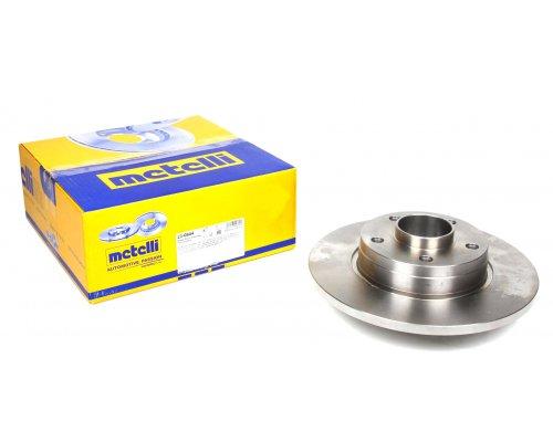 Тормозной диск задний (с подшипником) Renault Trafic II / Opel Vivaro A 2001-2014 23-0844 METELLI (Италия)