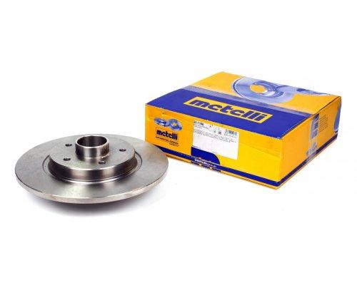 Тормозной диск задний (R15 / R16, с подшипником) Renault Kangoo II / MB Citan 2008- 23-1196 METELLI (Италия)