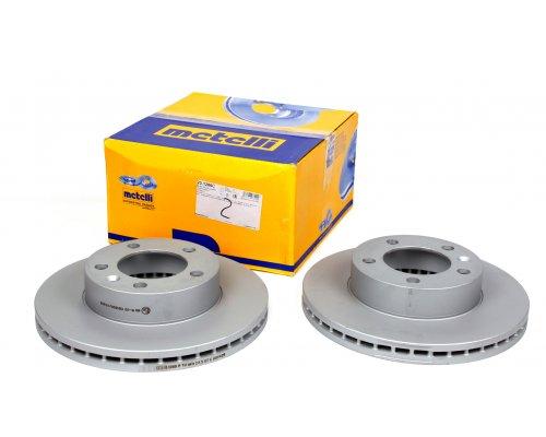 Тормозной диск передний (302х28мм) Renault Master III / Opel Movano B 2010- 23-1286C METELLI (Италия)