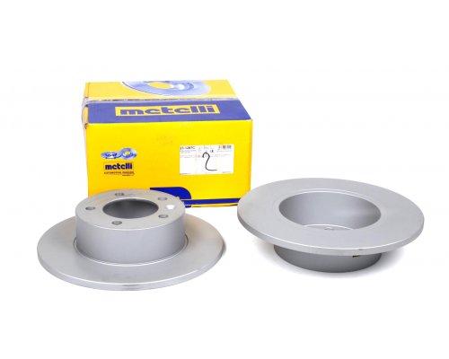 Тормозной диск задний (передний привод, 305х12мм) Renault Master III / Opel Movano B 2010- 23-1287C METELLI (Италия)