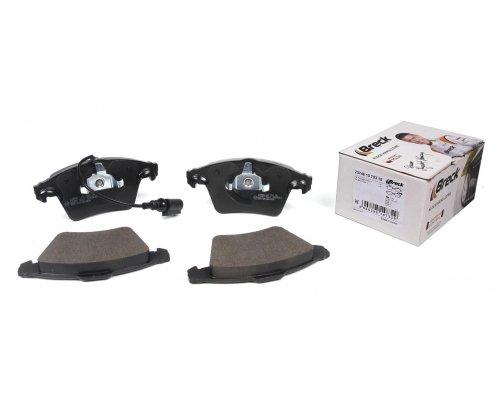 Тормозные колодки передние (с датчиком) VW Transporter T5 1.9TDI/2.5TDI 03- 237461070310  BRECK (Польша)