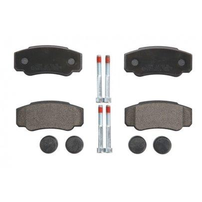 Тормозные колодки задние Fiat Ducato / Citroen Jumper / Peugeot Boxer 2002-2006 239210070300 BRECK (Польша)