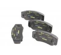Тормозные колодки задние Fiat Ducato / Citroen Jumper / Peugeot Boxer 2002-2006 2392101 TEXTAR (Германия)