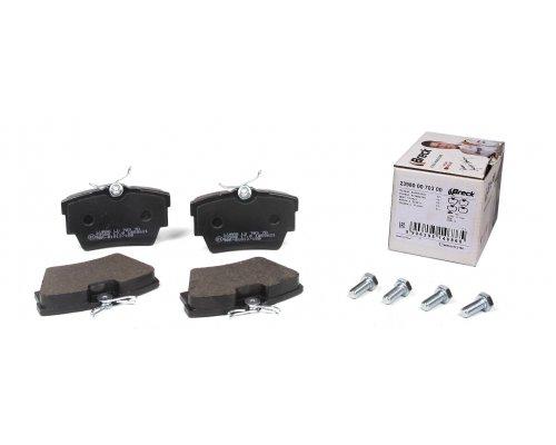 Тормозные колодки задние Renault Trafic II / Opel Vivaro A 2001-2014 239800070300 BRECK (Польша)