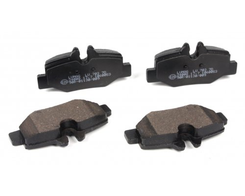 Тормозные колодки задние MB Vito 639 2003- 240080070300 BRECK (Польша)