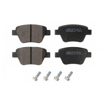 Тормозные колодки задние без датчика (109.3х53.4х17.7mm) VW Caddy III 04- 245631651 ZIMMERMANN (Германия)