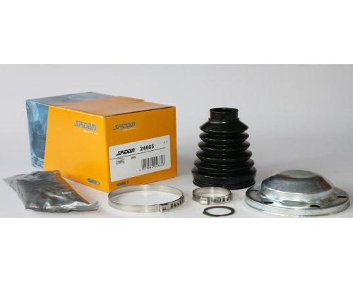 Пыльник шруса внутренний (комплект, механическая КПП) VW Caddy III 04- 24665 SPIDAN (Германия)
