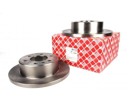Тормозной диск задний (298х16мм) MB Sprinter 208-316 2006- 27699 FEBI (Германия)