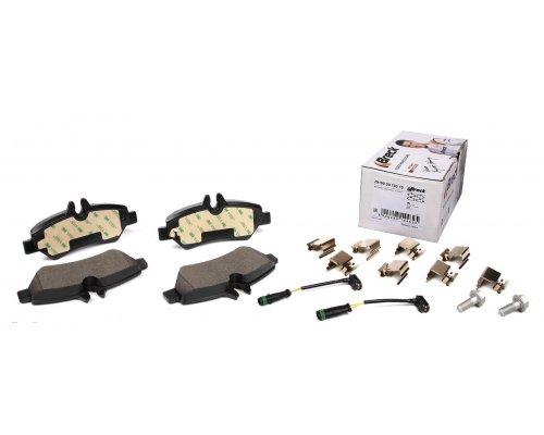 Тормозные колодки задние c датчиком VW Crafter 2006- 291900070310 BRECK (Польша)
