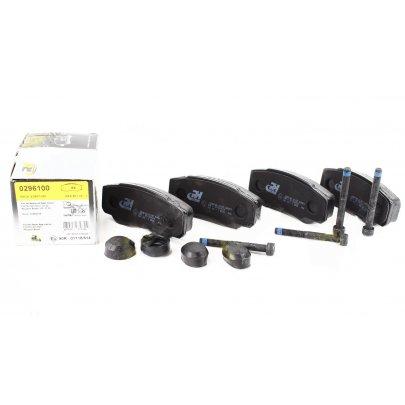 Тормозные колодки задние Fiat Ducato / Citroen Jumper / Peugeot Boxer 2002-2006 2961.00 ROADHOUSE (Испания)