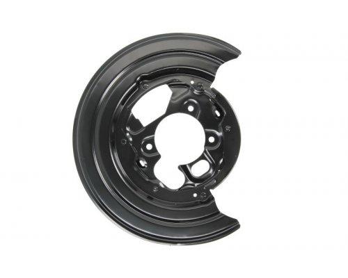 Защита колодок ручника правая (со сдвоенным колесом) VW Crafter 2006- 2E0609452 VAG (Германия)
