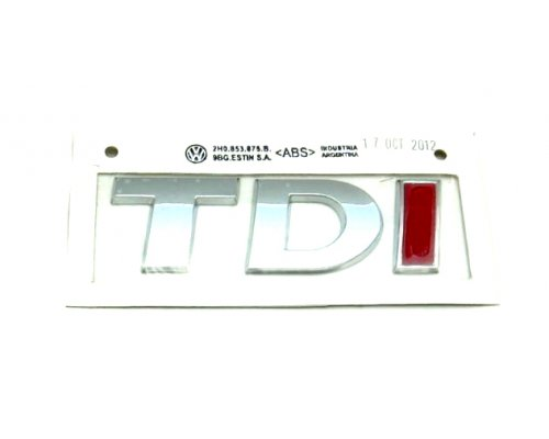"Эмблема ""TDI"" VW LT 1996-2006 2E0853675A TURKEY (Турция)"