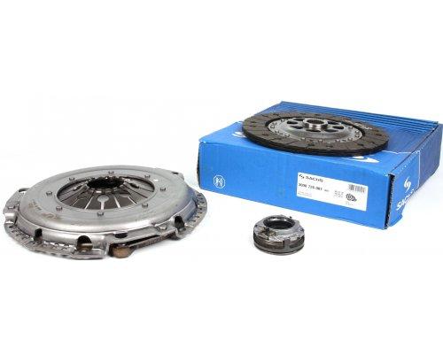 Комплект сцепления (корзина, диск, выжимной, D=230mm) MB Vito 638 2.3TD 1996-2003 3000726001 SACHS (Германия)