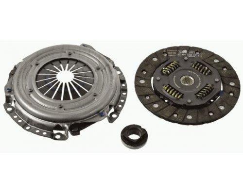 Комплект сцепления (корзина, диск, выжимной) Peugeot Partner II 1.6 (бензин) 88kW 2008- 3000950028 SACHS (Германия)
