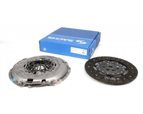 Комплект сцепления (корзина, диск, передний привод) Renault Master III / Opel Movano B 2.3dCi 74 / 81 / 92 / 107 / 110kW 2010- 3000950707 SACHS (Германия)