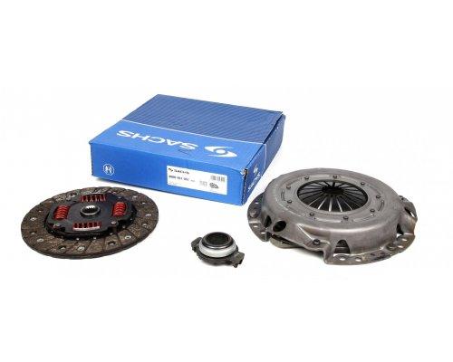 Комплект сцепления (корзина, диск, выжимной, до 1998 г.в) Peugeot Partner / Citroen Berlingo 1.8D 1996-2011 3000951057 SACHS (Германия)
