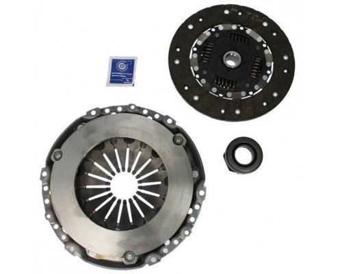 Комплект сцепления (корзина, диск, выжимной) VW Caddy III 1.9TDI 55kW 04- 3000951099 SACHS (Германия)
