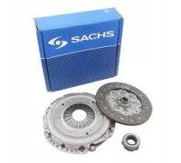 Комплект сцепления (корзина, диск, выжимной) VW Caddy III 1.9TDI 77kW/2.0TDI 04- 3000 970 036 SACHS (Германия)