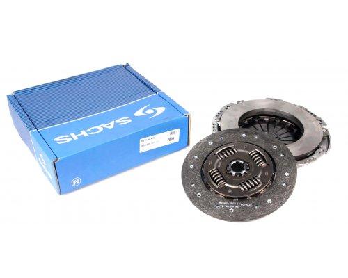 Комплект сцепления (корзина + диск) MB Vito 639 (двигатель OM651) 2.2CDI 2010- 3000970121 SACHS (Германия)