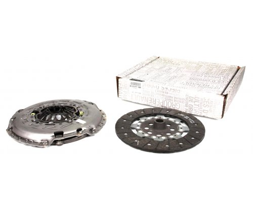 Комплект сцепления (корзина, диск, передний привод) Renault Master III / Opel Movano B 2.3dCi 74 / 81 / 92 / 107 / 110kW 2010- 302057116R RENAULT (Франция)