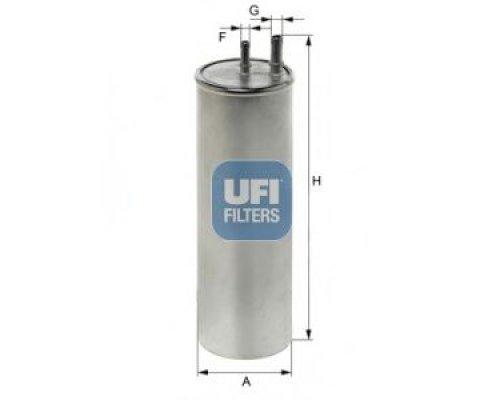 Топливный фильтр (2 выхода) VW Transporter T5 2.5TDI 03- 31.947.00 UFI (Италия)