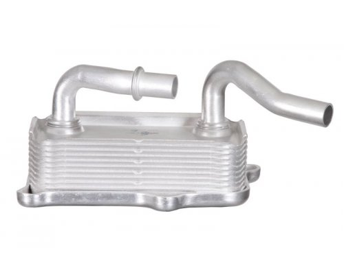Радиатор масляный / теплообменник MB Vito 639 3.2 / 3.7 (бензин) 2003- 31182 NRF (Нидерланды)