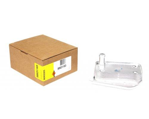 Радиатор масляный / теплообменник (двигатель OM646) MB Vito 639 2.2CDI 03- 31183 NRF (Нидерланды)