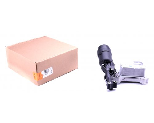 Радиатор масляный / теплообменник (с корпусом, двигатель OM651) MB Vito 639 2.2CDI 2010- 31350 NRF (Нидерланды)
